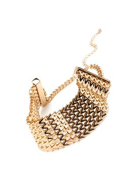 zigzag-linked-choker by forever-21
