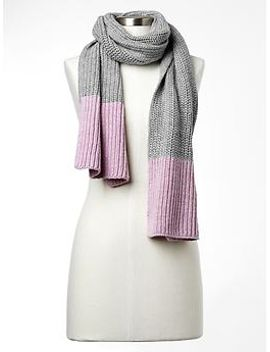 colorblock-ribbed-scarf by gap