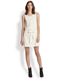 marcy-tie-front-dress by rag-&-bone