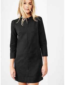 fitted-shift-dress by gap