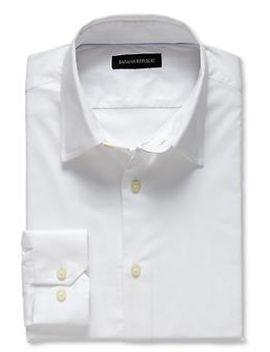 slim-fit-stretch-poplin-dress-shirt by banana-repbulic