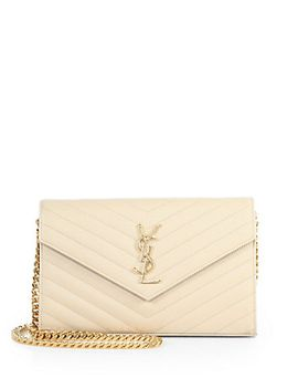 saint-laurent-monogram-chained-shoulder-bag by saint-laurent