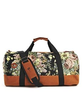 mi-pac-floral-tapestry-duffle-bag by mipac