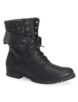 hidden-cuff-foldover-boot by aeropostale