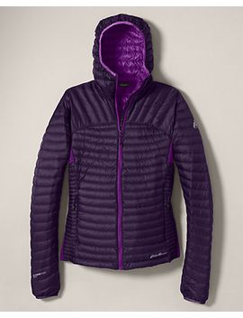 womens-microtherm-stormdown-hooded-jacket by eddie-bauer