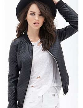 quilted-bomber-jacket by forever-21