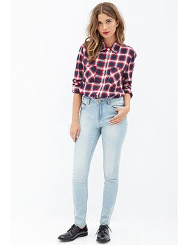 mid-rise---skinny-jeans by forever-21