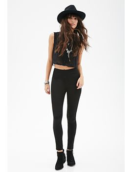 high-rise---flat-front-skinny-jeans by forever-21