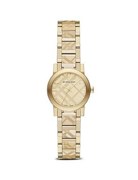 check-etched-bracelet-watch,-26mm by burberry