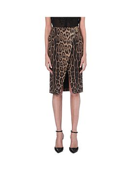 leopard-pencil-skirt by roberto-cavalli