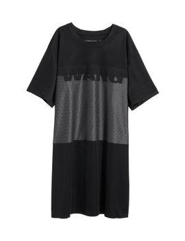 t-shirt-dress by h&m