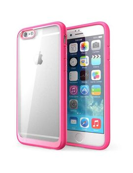 i-blason-iphone-6,-halo-series-scratch-resistant-transparent-hybrid-case-with-tpu-bumper-clear by i-blason
