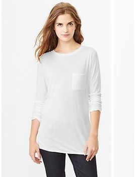 fluid-pocket-tee by gap