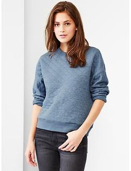 quilted-sweatshirt by gap