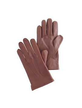cashmere-lined-leather-smartphone-gloves by jcrew