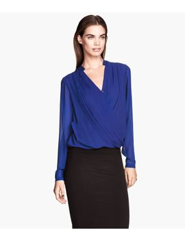 draped-wraparound-blouse by h&m