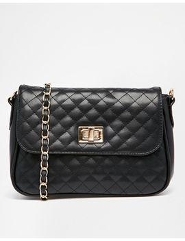 asos-quilted-lock-cross-body-bag by asos-collection