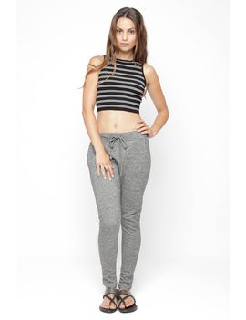 Grey Knit Harem Pants by 90s Lullaby