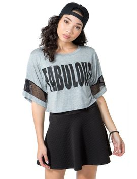 fabulous-crop-tee by agaci
