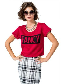 fancy-quilt-boxy-tee by agaci