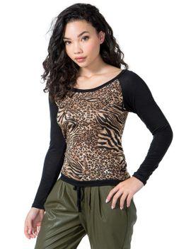 leopard-raglan by agaci