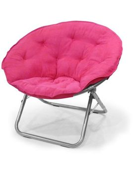 mainstays-large-microsuede-saucer-chair,-multiple-colors by mainstays
