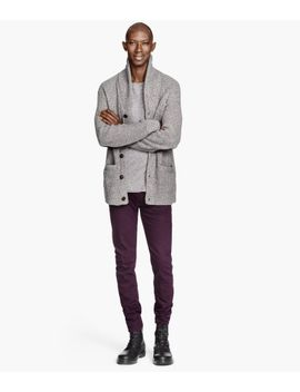 twill-pants-skinny-fit by h&m