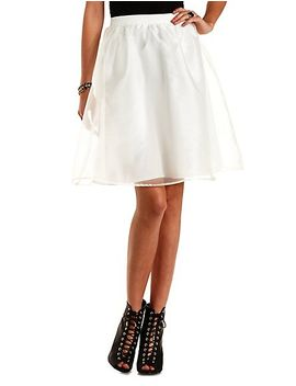 organza-full-midi-skirt by charlotte-russe