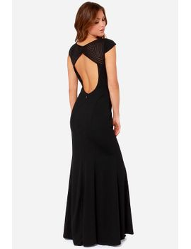 bariano-mariabella-black-maxi-dress by bariano