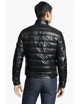 acorus-down-moto-jacket by moncler
