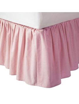 tl-care-cotton-percale-crib-skirt by tl-care