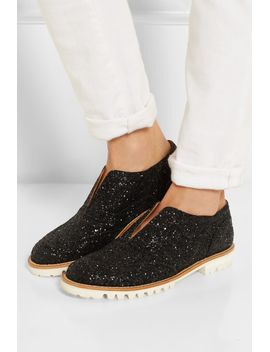 gipsy-ilga-glitter-finished-leather-brogues by finds