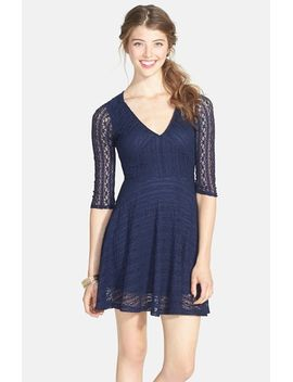 lace-skater-dress by lush