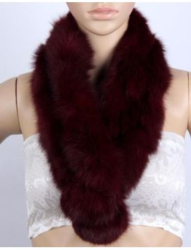 winter-women-real-rabbit-fur-scarf-shrug-shawl-stole-cape-scarves-muffler-wrap by ebay-seller