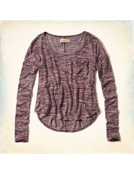 el-matador-drapey-knit-t-shirt by hollister