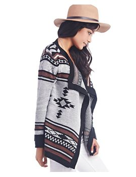 southwestern-open-cardi by wet-seal