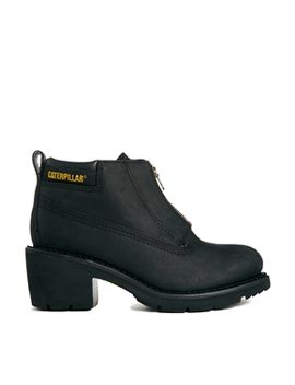 cat-footwear-ottawa-black-zip-heeled-ankle-boots by cat-