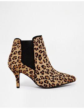 kg-by-kurt-geiger-scamp-pony-effect-leopard-shoe-boots by kg-by-kurt-geiger-