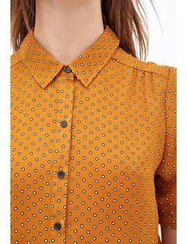 dotted-crepe-blouse by forever-21