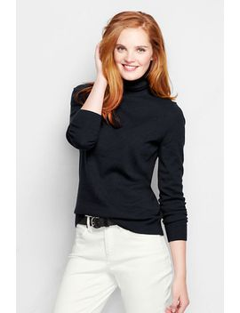 womens-classic-cashmere-turtleneck-sweater by lands-end