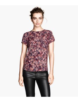 patterned-blouse by h&m