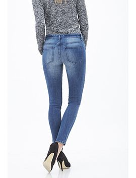 mid-rise---classic-skinny-jeans by forever-21