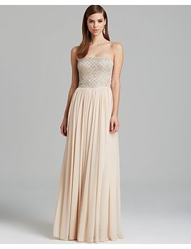 gown---strapless-beaded-bodice-with-pleated-chiffon-skirt by aidan-mattox