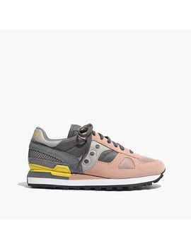 saucony®-&-madewell-shadow-original-sneakers by madewell