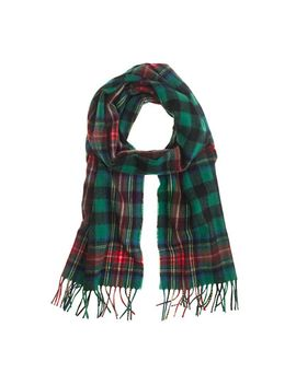 begg-&-co-lambswool-plaid-scarf by jcrew