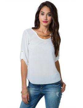 candace-metal-trim-blouse by agaci