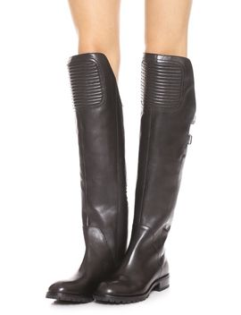 easy-rider-flat-tall-boots by marc-by-marc-jacobs