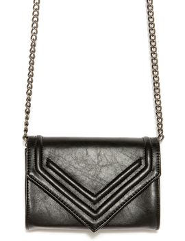 you-got-a-point-black-clutch by lulus