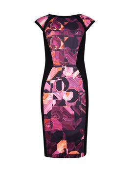 geo-print-dress by ted-baker