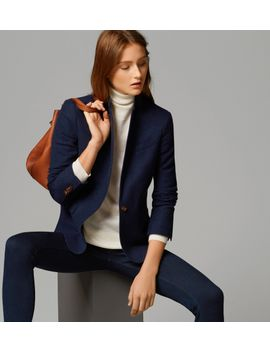 structured-blue-blazer by massimo-dutti